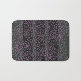 Lilac Flowers - Caulfield Green Bath Mat