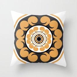 Roundie 1 Throw Pillow