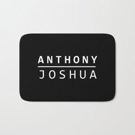 Anthony Joshua T shirt AJ Boxing World Champion Bath Mat