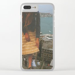 """""""Sunday postcard from Naples"""" Clear iPhone Case"""