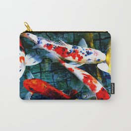 Koi pond Carry-All Pouch