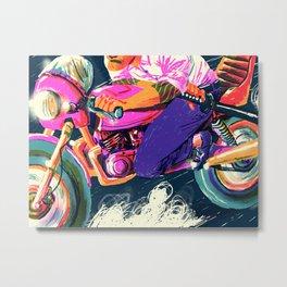 YAKUZA Metal Print