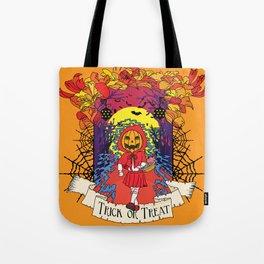 Jack o Red Riding Hood Tote Bag