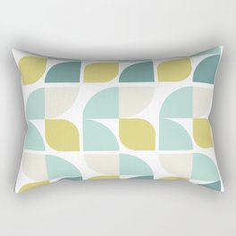 Vintage 60s geometry pattern 12 Rectangular Pillow