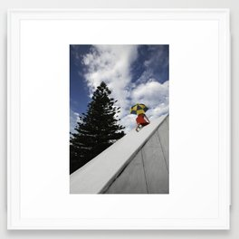 """""""Almost There"""" Framed Art Print"""