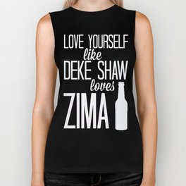 Love Yourself Like - Deke Shaw - Agents Of SHIELD Biker Tank