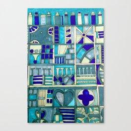 Edinburgh architectural motifs Canvas Print