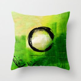 Enso No.MM13A by Kathy Morton Stanion Throw Pillow