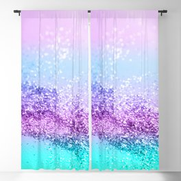 Unicorn Girls Glitter #14 #shiny #decor #art #society6 Blackout Curtain