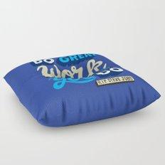 RIP Steve Jobs Floor Pillow