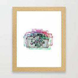 Click Click Boom Framed Art Print