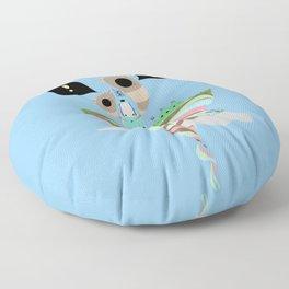 Dreaming for an adventure. Floor Pillow
