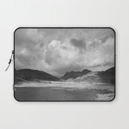 Blea Tarn with Langdale Pikes beyond. Cumbria, UK. Laptop Sleeve