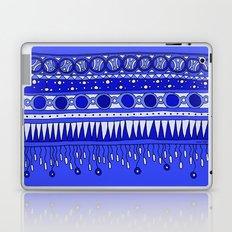 Yzor pattern 007-2 blue Laptop & iPad Skin