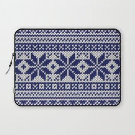 Winter knitted pattern 5 Laptop Sleeve