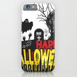 happy halloween day iPhone Case