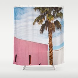 Palm Springs Vibes Shower Curtain