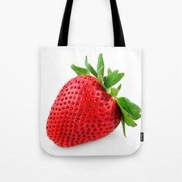 Strawberry on WhiteII Tote Bag