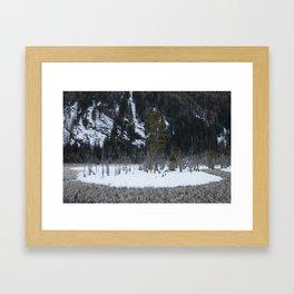 Snow Tales #3 Framed Art Print