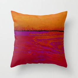 Square Abstract No. 8B by Kathy Morton Stanion Throw Pillow