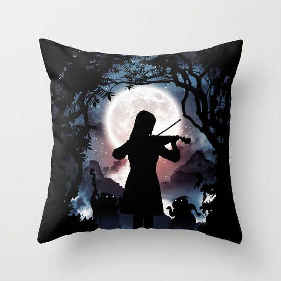 Moondance  Throw Pillow