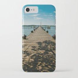 Endless Dock Coastal / Nautical Landscape Photograph iPhone Case