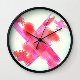 the crossing Wall Clock