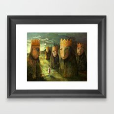 In the Company of Kings Framed Art Print