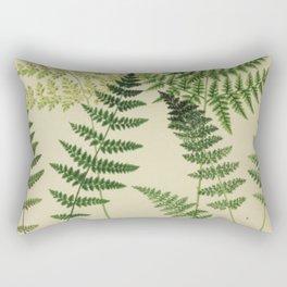 Botanical Ferns Rectangular Pillow