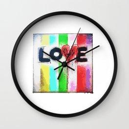 #DigitalLove Wall Clock