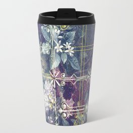 Stylish Vintage Happy Holidays Travel Mug