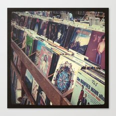 The Record Store (An Instagram Series) Canvas Print
