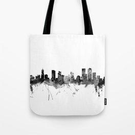Denver Colorado Skyline Tote Bag