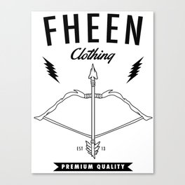 Fheen Clothing  Canvas Print