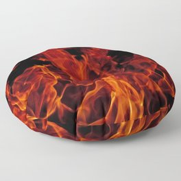 Fire Floor Pillow
