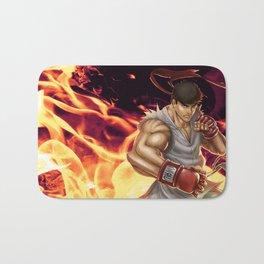 Ryu Street Fighter Bath Mat