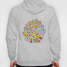Hearts Galore Hoody