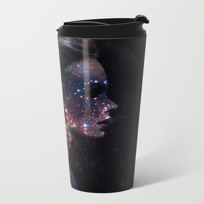 Galaxy Eyes Metal Travel Mug