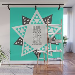The Fault is not in our Stars But In Ourselves - Star Geometry  Wall Mural