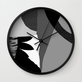 Pattern Study Wall Clock