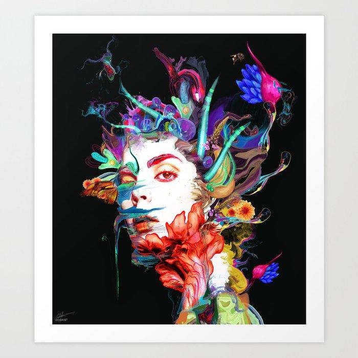 Synthesize Art Print
