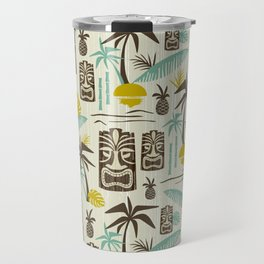 Island Tiki - Tan Travel Mug