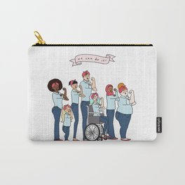 Intersectional Rosie the Riveter Carry-All Pouch