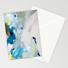 Returning III, Detail 02 Abstract Painting Canvas Stationery Cards