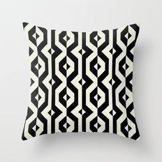 Modern bold print with diamond shapes Throw Pillow