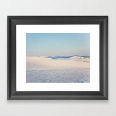 Ombre Sands Framed Art Print