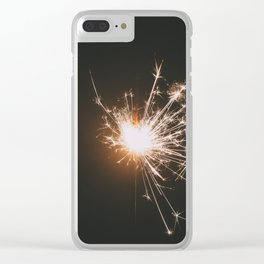 Spark, II Clear iPhone Case