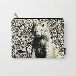 Smart Animal-  prairie dog Carry-All Pouch