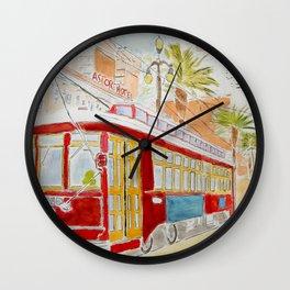New Orléans Tramway Wall Clock