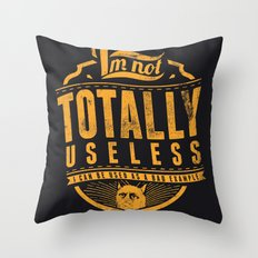 Bad example Throw Pillow